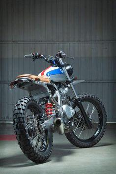 "motographite: HONDA NX650 ""CUSTOM SCRAMBLER"" by KIDDO MOTORS"
