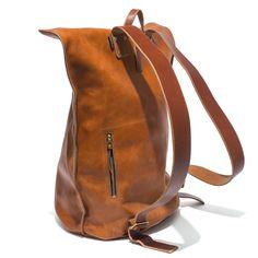 Kika NY Brown Leather duffel