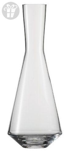 Schott Zwiesel Tritan Crystal Glass Pure Collection White Wine 3/4 Liter Decanter (*Amazon Partner-Link)