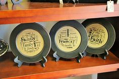 We carry all kinds of plates for decor! simplyyours | Home Decor