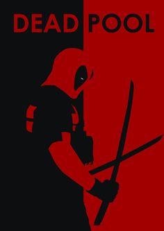 Deadpool Silhouette – PrintScn