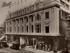 """Fenwick Ltd Northumberland Street Newcastle upon Tyne -Eizabeth Sharpe worked here before her marriage to Wiliam Anderson, which was in Jarrow in She was a """"Mantle Maker"""" who fit and sewed dresses and coats in the Ladies Department. Blaydon Races, Newcastle Gateshead, Durham City, Great North, Somewhere In Time, North East England, Local History, British History, Family History"""