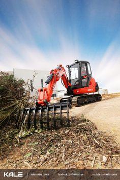 Kubota Mini Excavator - Mini Ekskavatör KX121 Tek ihtiyacınız Kubota Mini Ekskavatör! - All you need is Kubota mini Excavator!