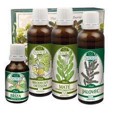Doplněk z bylin ke snižování tělesné hmotnosti a pro harmonizaci organismu