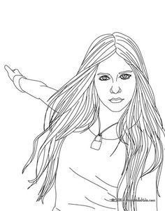 shakira coloring pages games - photo#48