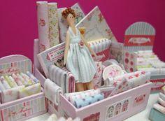 Dollhouse Miniature Tilda Style Tiny Doll - Buscar con Google