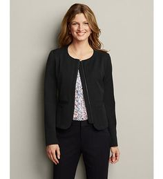 Classic Stretch Suiting Novelty Jacket | Eddie Bauer