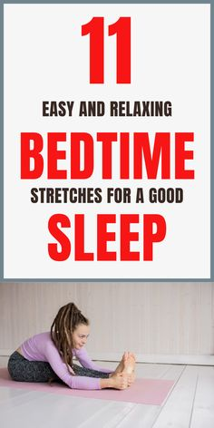 GoodSeveral studies have shown that sleep is crucial. In this article, you'll learn about simple bedtime stretches to try before you sleep.  #eveningyoga #eveningyogastretches #bedtimeyoga #fallasleepfaster #yogaforsleep #yogastretches #yoga Bedtime Stretches, Bedtime Yoga, Falling Asleep Tips, How To Fall Asleep, Healthy Sleep, How To Stay Healthy, Lifestyle Group, Healthy Lifestyle, How To Get Better