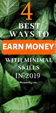 You can earn money even if you have no particular skills. Here are 4 ways to help you make some extra cash on the side without any special knowledge. Ways To Earn Money, Make Money Fast, Money Tips, Make Money From Home, Make Money Online, Investing Money, Saving Money, Hustle Money, Second Job
