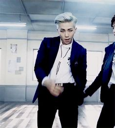 NEVER UNDERESTIMATE THE SENSUAL POWERS OF NAM JOON. NEVER. #rapmonster #bts #bangtanboys