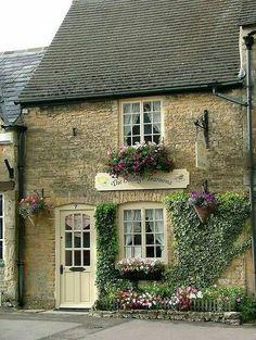 """The Cottage Tea Room"" in Dublin, Ireland"