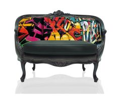 Teo Jasmins Digitally Printed Furnishings Combine Artful Images With Classic Styles.