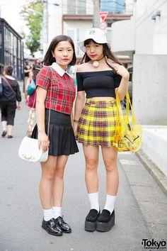 Plaid - Tokyo Fall Fashion Trend