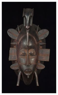 A style of Senufo mask which is found in the Ivory Coast, Ghana, Burkina Faso and South Mali.  http://www.artyfactory.com/africanmasks/masks/yohure.htm