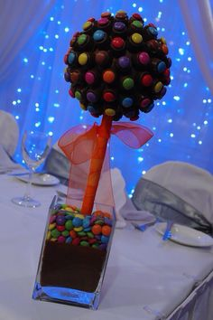 Rolo & Smartie Sweet Tree