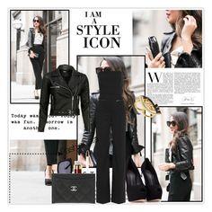 """Style icon"" by krystalkm-7 ❤ liked on Polyvore featuring Mulberry, Giuseppe Zanotti, Maison Margiela, VIPARO, Stila, Karen Walker, Chanel and Lulu Frost"
