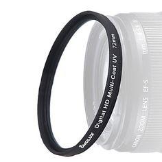 Emolux Digital Slim HD DLP MC-UV 72mm filter – DKK kr. 122