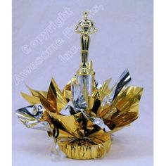 Movie Superstar Centerpiece can be ordered in any colors. All supplies can also be purchased separately.