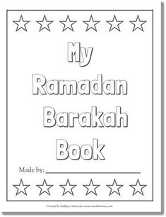 My Ramadan Barakah Book free download only muslimommy.com
