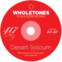 "The 417-Hz ""Desert Sojourn"" music can break negative cycles such as procrastination, self-medication, eating junk food. Sluggishness and lethargy disappear. Known to positively affect #digestion, stomach issues, #metabolism, #prostate, #gallbladder, #headache, and lower back problems. Listen to a sample...@wholetones"