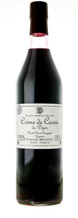 Crème de cassis is a sweet, dark red liqueur made from blackcurrants. It be served as an after-dinner liqueur or as a frappé and in the very popular wine cocktail, kir.  Briottet was founded in 1836 as a family-owned business in Dijon, France. Initially wine merchants, they contributed to the development of the aperitif originally called Blanc Cassis or Kir. Fruit for all of the Briottet spirits comes from 3 areas of France - the Loire Valley, the Rhone Valley and Burgundy.