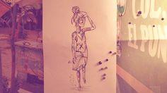 No es que seas mi trabajo es que es mi idioma ...🌊💛🌴 #beach #mar #sea #art #arte #artworking #arte #artist #sketch #sketchbook #boheme #drae #drawing #dibujo #dibujar #dibujo #diseño #dibujo #arttattoo #ilustracion #ilustrar #elle #she #fashion #rastalove #rastagirl