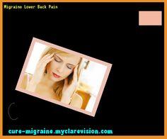 Migraine Lower Back Pain 202155 - Cure Migraine