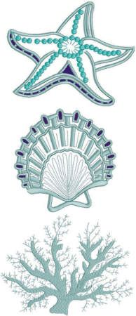 Nautical Lace Set II Advanced Embroidery Designs - Nautical Lace Set II<br> Machine Embroidery Set of 3 Lace Designs Embroidery Materials, Machine Embroidery Projects, Embroidery Software, Machine Embroidery Applique, Free Machine Embroidery Designs, Hand Embroidery Stitches, Silk Ribbon Embroidery, Embroidery Techniques, Embroidery Ideas
