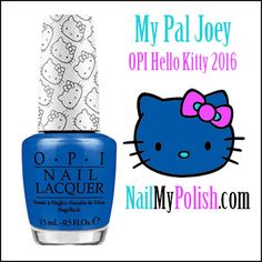 Hello Kitty by OPI is a 2016 Nail Lacquer Collection featuring many shades associated with The Hello Kitty Brand. We have all the information right here!