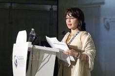 La Directora General de Transporte de la SETRAVI, licenciada Verónica Pinto Martín participó como moderadora en el Panel Movilidad en Iberoamérica.