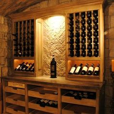 small wine rack design