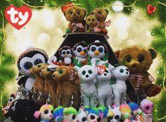 I found the new Christmas Beanies! Christmas Beanie, Ty Beanie Boos, Beanies, Hug, Kawaii, Couture, Christmas Ornaments, Holiday Decor, Awesome