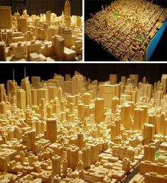 You can push out a whole miniature city, this one by frustrated software engineer Michael Chesko