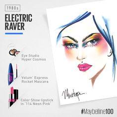 Maybelline 100th Anniversary_1980s