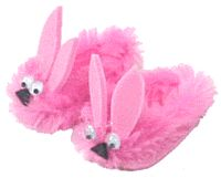 pink bunny slippers!  would be great for a field trip to the Christmas Story House in Cleveland.
