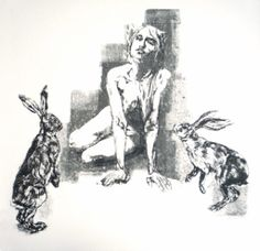 The Briar Patch (Silkscreen Signed Limited Edition of 60) by John Simpson #hares