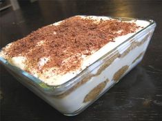 Tiramisu : la recette facile Your scrumptious dish from Poland is referred to as babka. Fall Dessert Recipes, Easy Cake Recipes, Easy Desserts, Fall Recipes, Bolo Tiramisu, Tiramisu Dessert, Tiramisu Speculoos, Food Cakes, Sweet Treats