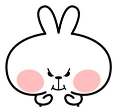 "Spoiled Rabbit ""Facial expression"" - Stiker LINE Cute Cartoon Images, Cute Couple Cartoon, Cute Cartoon Characters, Cartoon Jokes, Cute Cartoon Wallpapers, Cute Bear Drawings, Cute Little Drawings, Cute Love Memes, Cute Love Pictures"
