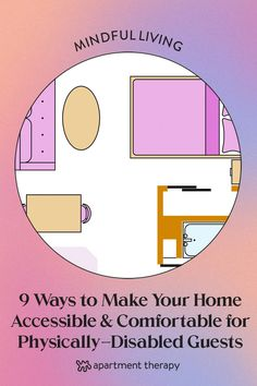 Preparing for guests with physical disabilities doesn't always mean expensive home modifications. Thoughtful touches and inexpensive home aids can make your place feel like a home away from home, for anyone. Here are nine ways to make your home disability-friendly before your guest arrives. Poor Circulation, Expensive Houses, Disability, Physics, Therapy, Stress, How To Get, Rooms, House Design