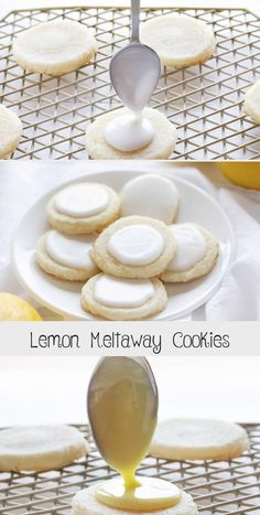 Lemon Meltaway Cookies are a perfect light summer cookie! Summer Cookies, Fun Cookies, Cake Cookies, Lemon Desserts, Lemon Recipes, Cake Recipes, Strawberry Lemon Cupcakes, Chocolate Drop Cookies, Drop Cookie Recipes