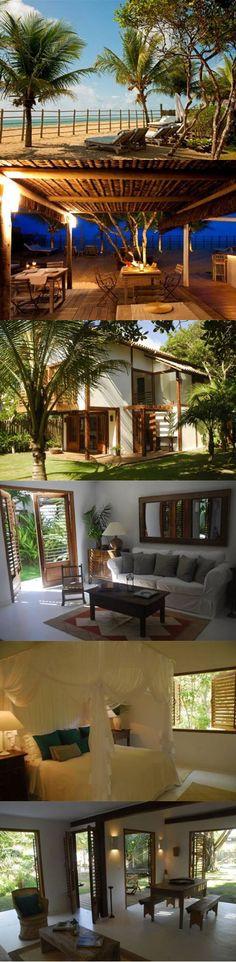 Trancoso - 5 Casas à venda mobiliadas localizadas em um lugar paradisiaco. Veja mais - http://www.imoveisbrasilbahia.com.br/trancoso-5-casas-mobiliadas-localizadas-em-um-lugar-paradisiaco-a-venda