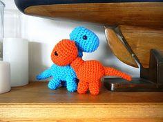 Baby Brachiosaurus: free dinosaur crochet pattern
