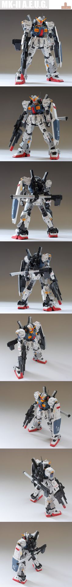 RG 1/144 Gundam Mk-II