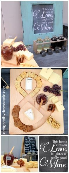 DIY Wine and Cheese Party (with Pairing Suggestions and Free Chalkboard Wine Printable!)
