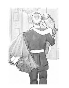 Marlee and Carter - I love this drawing from The Favorite