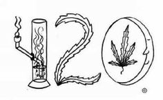 420 Weed Coloring Pages Coloring Pages Trippy Drawings, Cool Art Drawings, Art Drawings Sketches, Desenhos Halloween, Drugs Art, Trippy Painting, Marijuana Art, Stoner Art, Weed Art