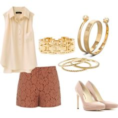 elegant day outfit, created by lissyvegas on Polyvore
