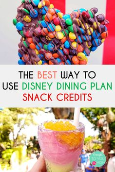 The Disney Dining Plan is back at Walt Disney World for Do you ever get confused about where to best use snack credits? Here is how to best use your Disney Dining Plan Snack Credits! Disney World With Toddlers, Disney With A Toddler, Disney World Food, Disney World Planning, Disney World Vacation, Disney Travel, Vacation Spots, Vacation Ideas, Disney World Tips And Tricks