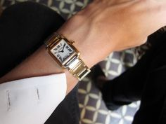 Cartier.I love this watch and it will be my gift for myself this year.