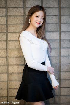 Jang Gyuri - Pepero Day Event by Naver x Dispatch. South Korean Girls, Korean Girl Groups, Korean Short Hair, Kpop Girls, Asian Girl, Cool Girl, High Waisted Skirt, Idol, Actresses